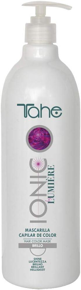 Tahe Ionic Lumière Mascarilla Capilar/Mascarilla de Color de PH de 3,5 Ácido, sin Parebenos. Altamente Nutriente e Hidratante, 1000 ml