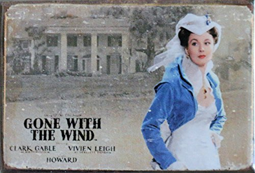 Collectable Wind Vintage Plate - (2x3) Gone with the Wind Movie Scarlett O'Hara Locker Refrigerator Magnet