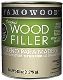FamoWood Original Wood Filler -Cherry - Quart Net Wt 45oz(1,275g)