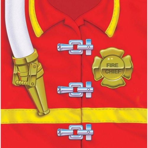Fireman Lunch (Creative Converting Firefighter 16 Count 3-Ply Paper Lunch Napkins)