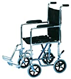 Transportation Wheelchair, 19 inch wide seat