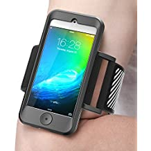 iPod Touch 6th Generation Armband, SUPCASE Apple iTouch 6/5 Sport Running Armband with Premium Flexible iTouch 6 Gen Case Combo