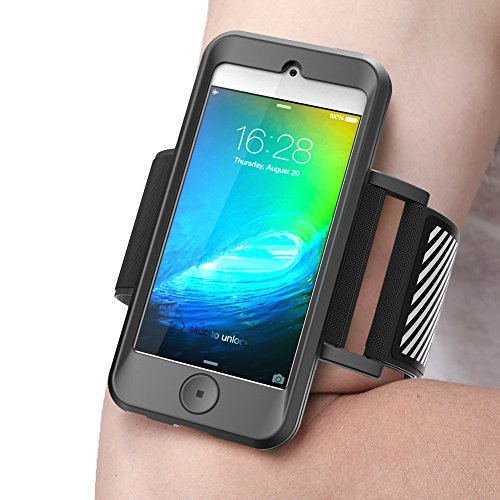 iPod Touch 6th Generation Armband, SUPCASE Apple iTouch 6/5 Sport Running Armband with Premium Flexible iTouch 6 Gen Case Combo - Apple Ipod Touch Sports Armband