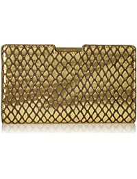 Metallic Reptile Small Frame Clutch
