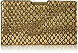 MILLY Metallic Reptile Small Frame Clutch