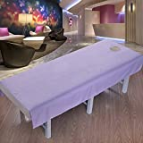 LWZY Linens Massage table sheet,waterproof sheets,spa linens,set of 2, salon sheets/water and oil proof sheets-B 190x80cm(75x31inch)