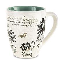 "Mark My Words 66335 ""You're Amazing"" Mug, 20 oz, Multicolored"