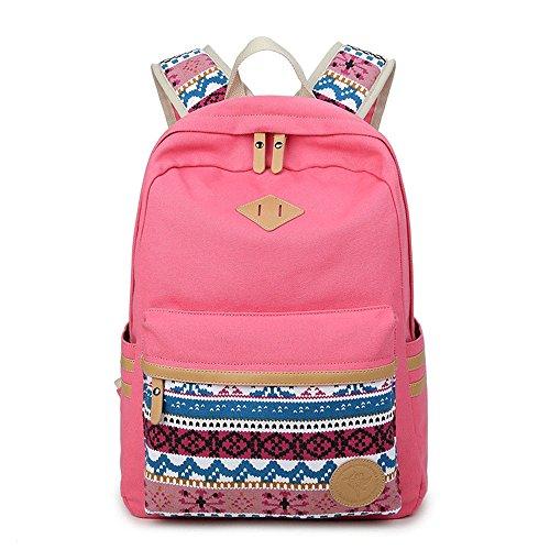 Nuova rosa viaggio borsa da fashionGirls zaino rosa 14cm 29 42 arrfXxEFqw