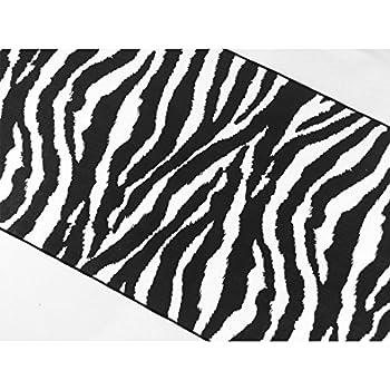 ArtOFabric Decorative Cotton Zebra Print Table Runner.