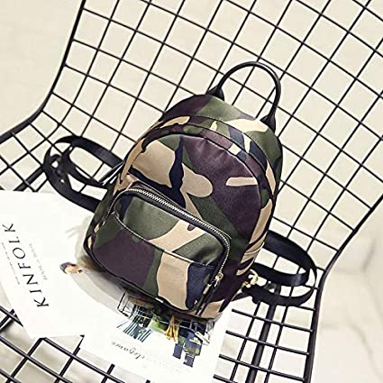 Amazon.com: Women Backpack Waterproof Nylon Lady Womens Female Casual Travel Bags Mochila Feminina School Camouflage KL155: Kitchen & Dining