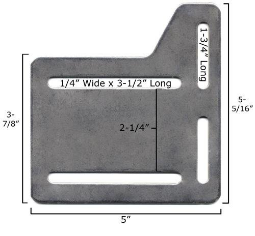amazoncom bed claw queen bed plate headboard attachment bracket set of 2 kitchen u0026 dining