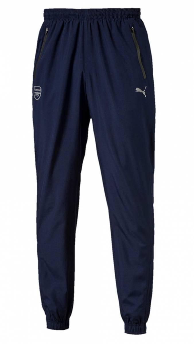2016-2017 Arsenal Puma Woven Pants (Peacot) Kids B01DYKEGOINavy Large Boys 28\
