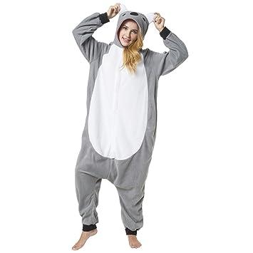 Katara Costume de Koala con Capucha, Color Azul, Monstruo de Las Galletas, Talla
