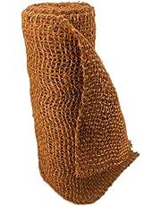 AQUAGART Malla de coco para inclinaciones, 5 m de largo y 1 m de ancho, borde para estanque, alfombra de coco