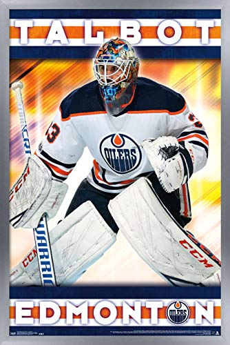 Trends International NHL Edmonton Oilers - Cam Talbot Wall Poster, 14.725