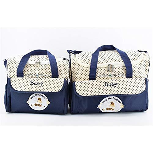 5pcs sac pour femmes momie bandoulière les Ducks main à mode Sac Set à capacité grande enceintes multifonctionnel de imprime sac de HFnxq6TI