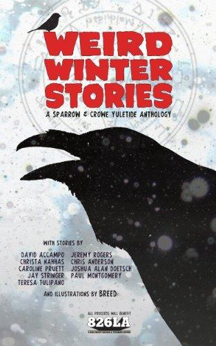 book cover of Weird Winter Stories