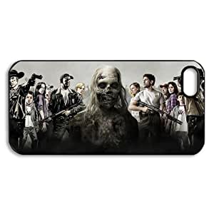 Custom iphone 5 5S Back Case Cover Protector - TV & Movie Series The Walking Dead -1