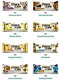 NuGo Fiber D'Lish Bar 8 Flavor Variety Pack (Pack of 16)