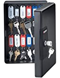 SentrySafe KB25 KeyBox with 25 Key Hangers, Black