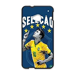 HTC One M7 Cell Phone Case Black_WorldCup Brazil FY1392329
