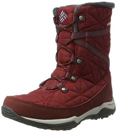 Bottes Heat Neige Rouge Mountain de Columbia Femme Omni Red Mid Element Loveland IwxtHB