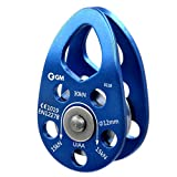 GM CLIMBING UIAA Certified 30kN Swing Cheek Micro Pulley...
