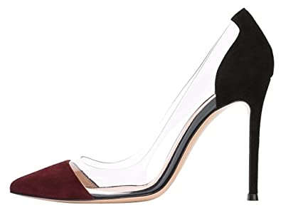 Ubeauty femmes aiguille talon stilettos slip on escarpins