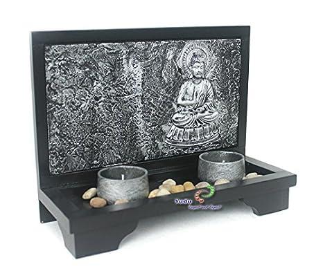 3D Efecto Deko–Portavelas con diseño de Buda Piedra Zen de jardín NR: A Partir de 9016