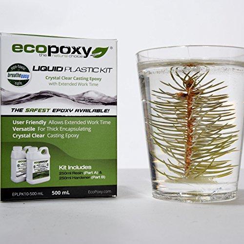 Ecopoxy Liquid Plastic Kits (500 ML) by Ecopoxy (Image #2)