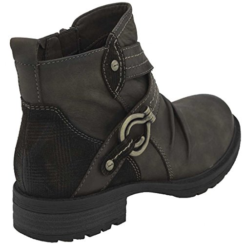 Earth Womens Laurel Stone Vintage Leather Kh1Lif6X