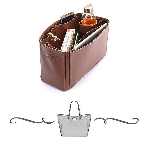 9b1d1b6f6213 Amazon.com  Medium Dorset Tote Leather Handbag Organizer
