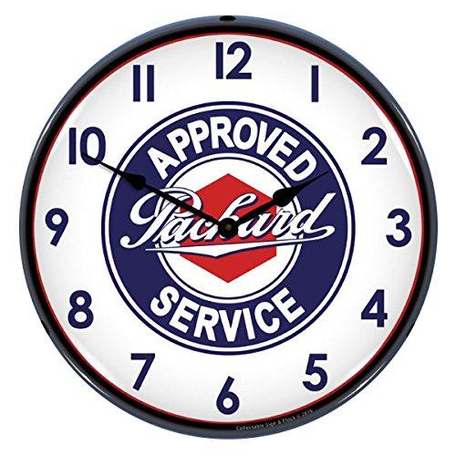 packard-service-lighted-wall-clock
