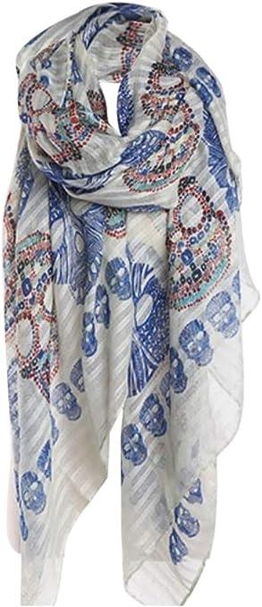 Acheter foulard echarpe bandana tete de mort online 3