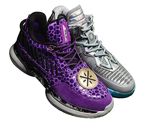 LI-NING Remix Pack Wow 7 + Wow 1 DWade Men Professional Basketball Shoes Way of Wade Classic Sneakers ABAN079-15