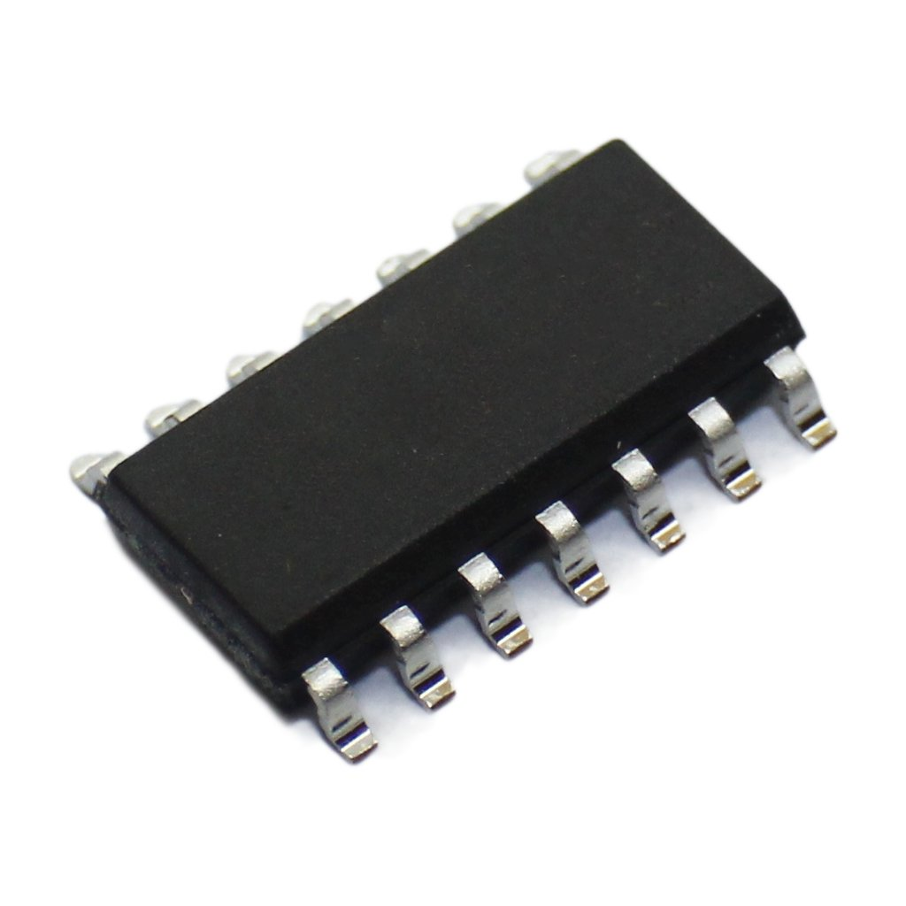 10x SN74AHC125DR IC digital buffer, line driver, non-inverting SMD SO14