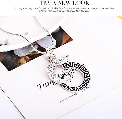 einfache Hochzeitsdekoration Geschenk zum Valentinstag Schmuckset Diamant Modeschmuck Emorias Legierung Anh/änger f/ür Damen Accessoires