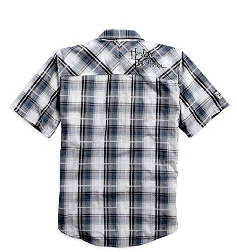 Harley-Davidson Whipstitched Plaid Shirt 96489-15VM Herren Shirt
