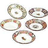 小皿 おしゃれ : 古伊万里絵変り 小皿 セット Japanese Plate x5pcs set Porcelain/Size(cm) Φ11.3x2/No:766667