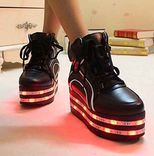 heel led shoes platform shoes