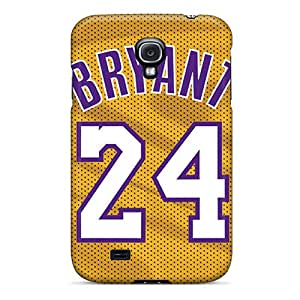 WFWRnbLb10509 Case Cover, Fashionable Galaxy S4 Case - Los Angeles Lakers