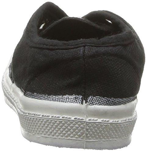 Bensimon Tennis Elly - Primeros Pasos de canvas Bebé - unisex gris - Gris (Carbone 835)