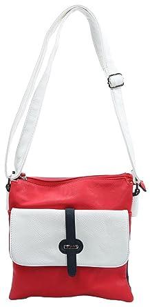 Tasche Größe One Size Rot (Rot) Sempre 7DQctU