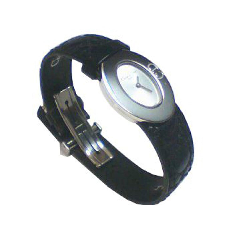 Christian Dior Damen-Uhr mit Leder-Armband der Kollektion Lady Dior