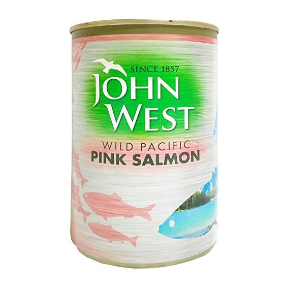 John West Pink Salmon - Wild Pacific, 418g Tin