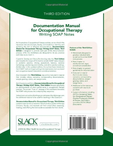 soap notes examples occupational therapy