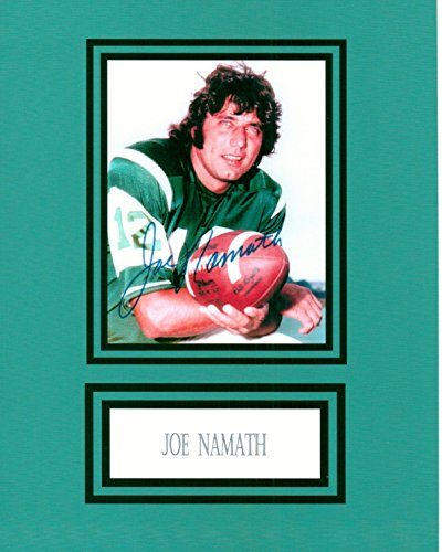 Joe Namath 8 X 10 Autograph Photo on Glossy Photo Paper (Namath Photograph)
