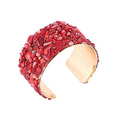 15e9d0204810e YouBella Jewellery Crystal Beads Studded Bangle Kada Bracelet for Girls and  Women