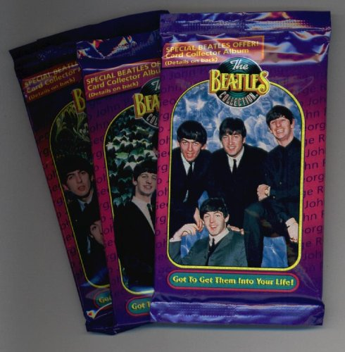 - (3) 1993 The Beatles Collection Trading Cards Unopened Packs of 10 Trading Cards - Great History - Peter, Paul, George, Ringo & more !!