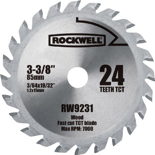 aCut 3-3/8-inch 24T Carbide-tipped Circular Saw Blade (Cut Power Hand Saw Blade)
